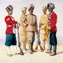 The Martial Races of India: Recruitment by Ethnicity in the British Indian Army